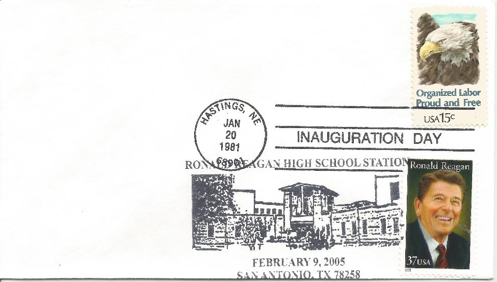 RWR memorial San Antonio,TX FDC with inaugural cancel