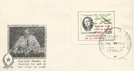 Ecuador Overprint #6