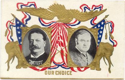 Taft Sherman postcard