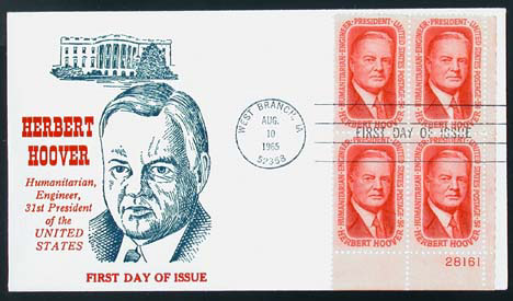 Hoover Memorial Cover #4