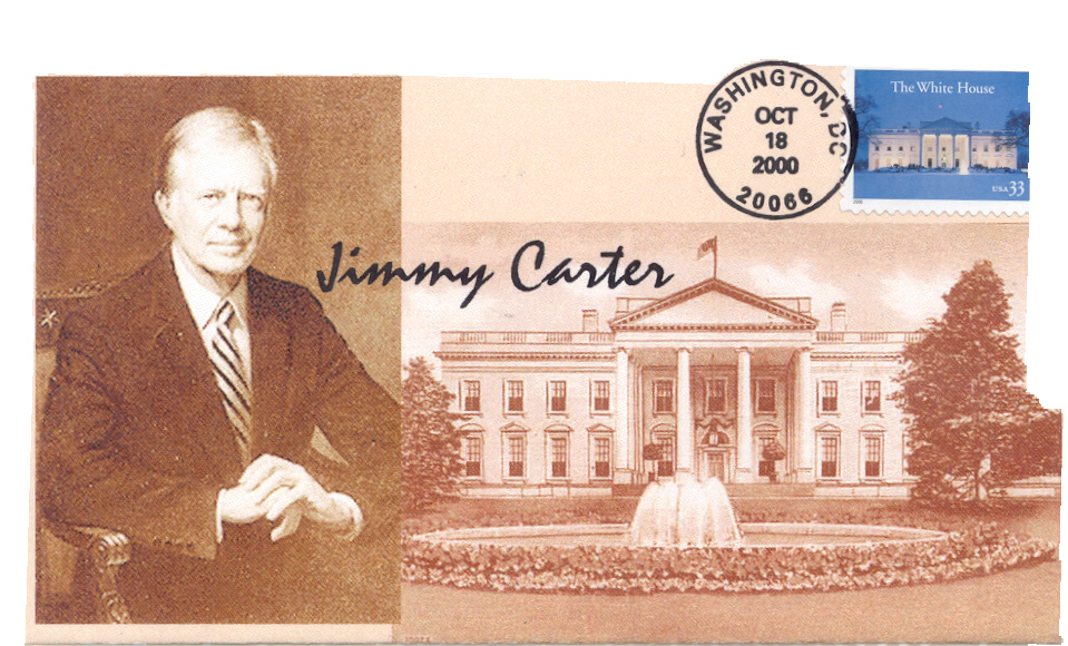 Carter White House FDC