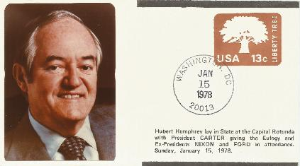Hubert Humphrey Memorial Service #2