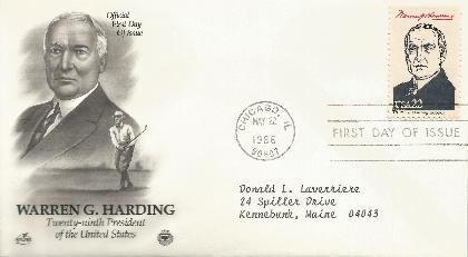 Harding Ameripex 86-05-22 Artcraft/PCS