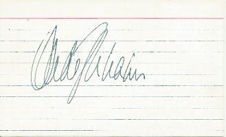 Michael Dukakis - Presidential Opponent  Card