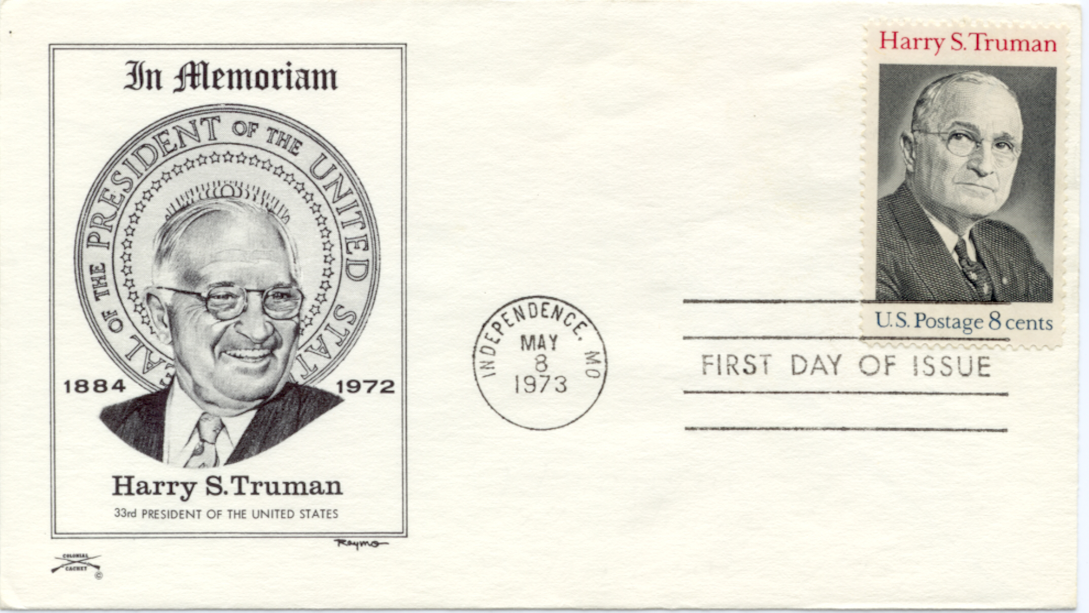 HST Memorial FDC #12