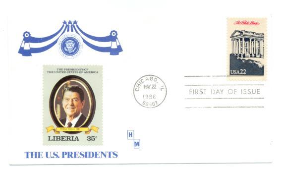 Ameripex Presidents FDC #4