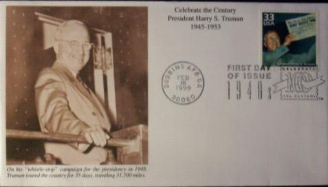 Celebrate the Century FDC #1