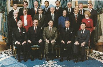 PCRWR-04 Reagan Cabinet