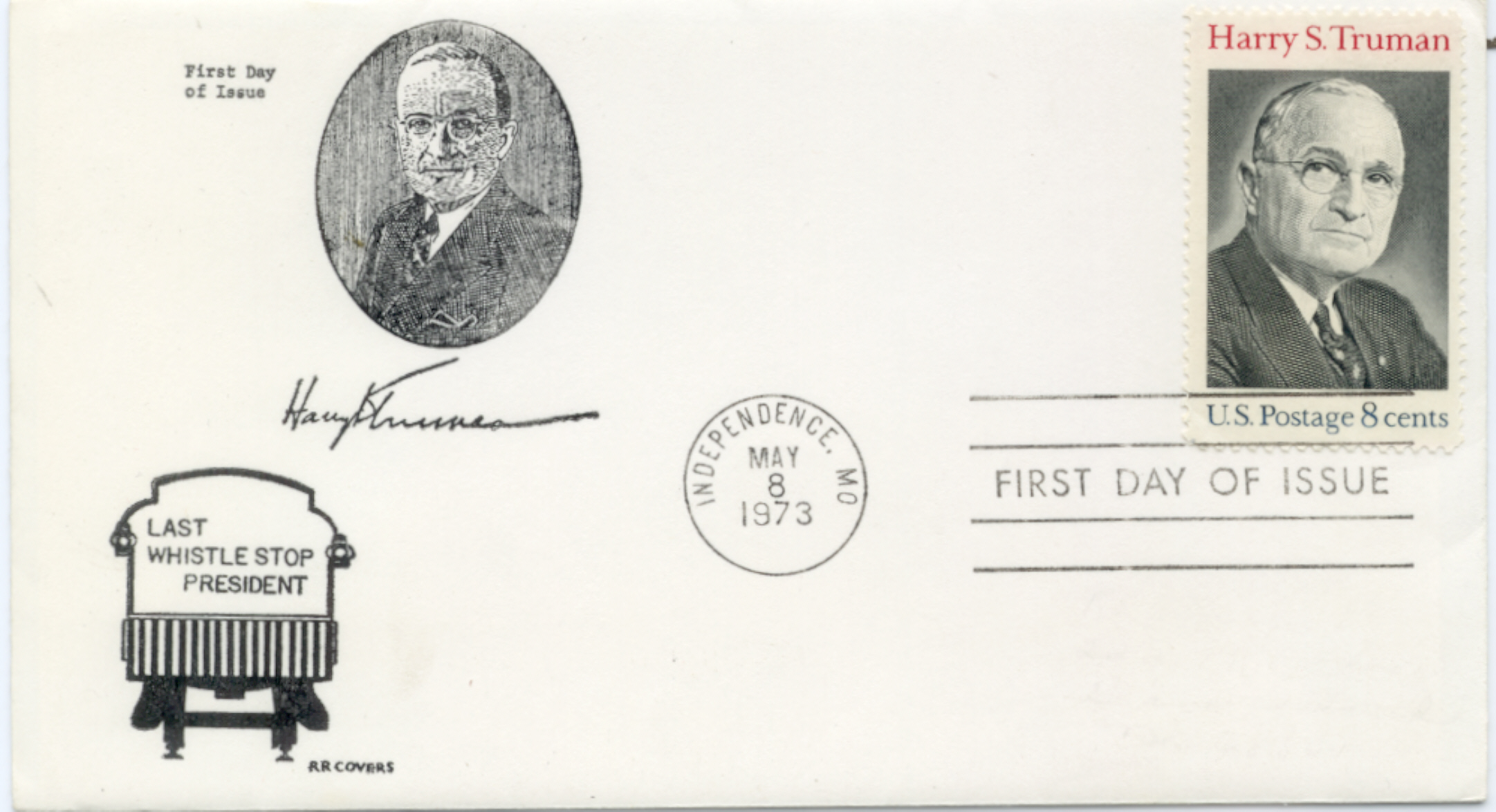 HST Memorial FDC #2