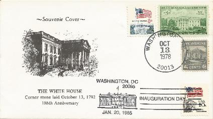 78-10-13 White House cornerstone