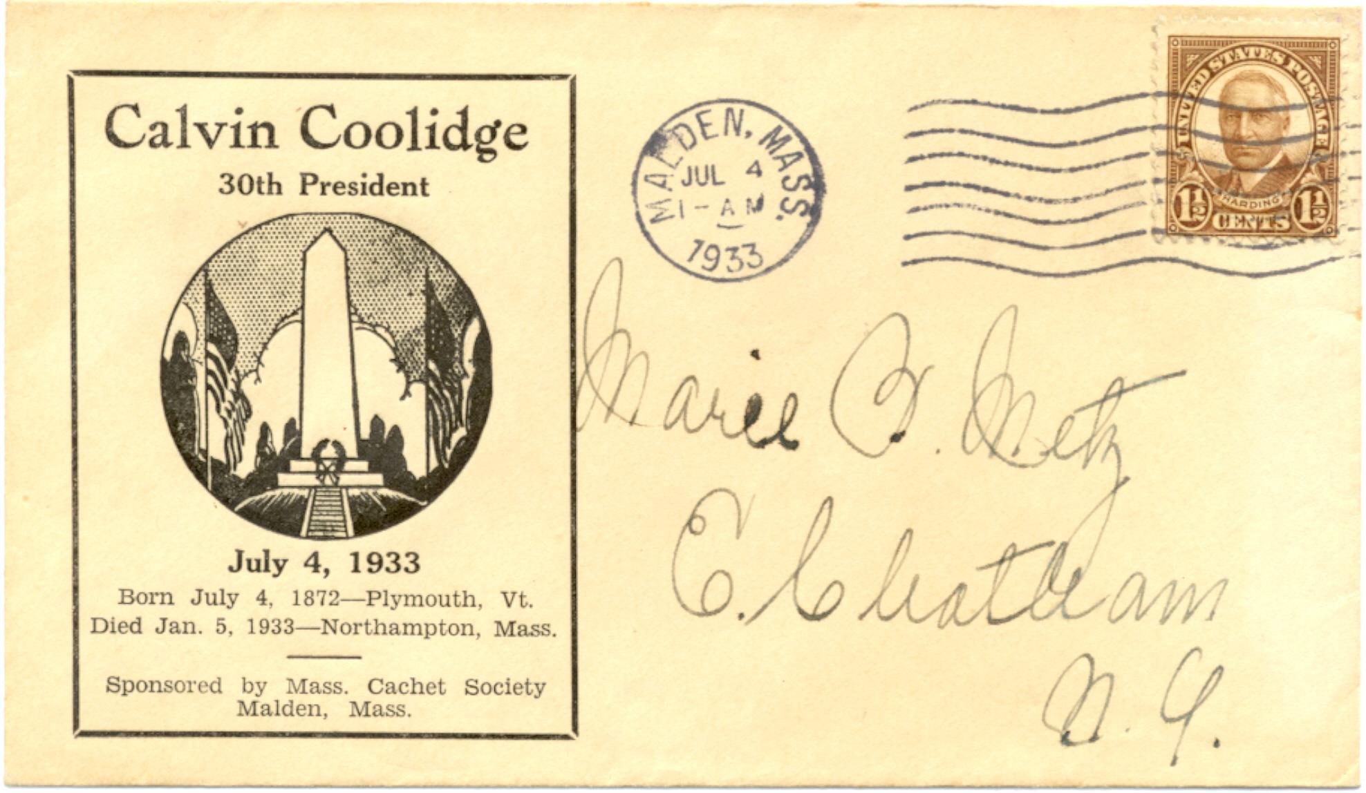 Coolidge 33-07-04 Birthday