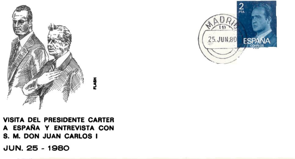 Spain Carter visit