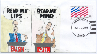 Read My Lips/Mind cartoon