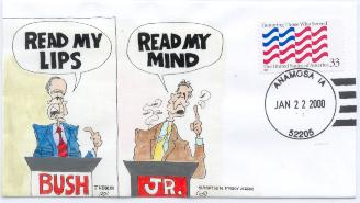 Read My Lips/Mind cartoon