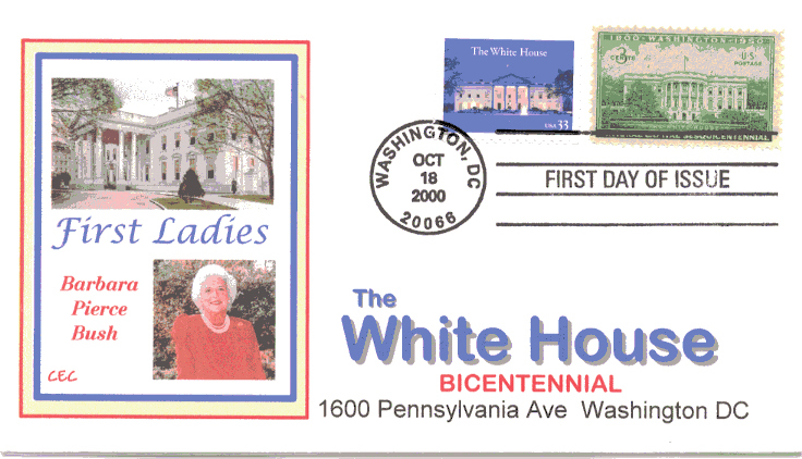 White House FDC #2