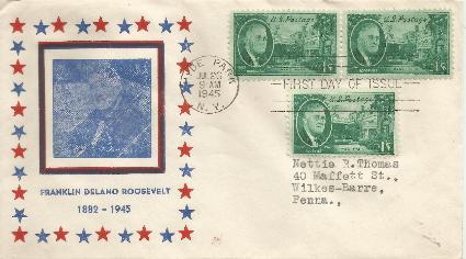 45-07-26 FDR Memorial 1cent #5