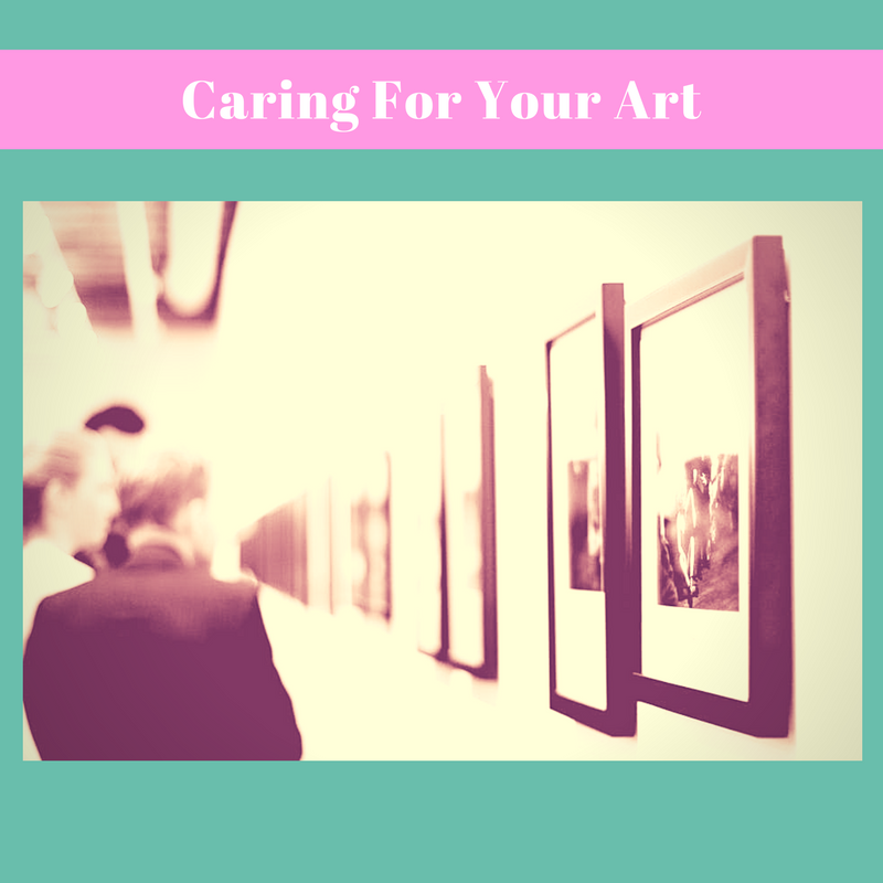 Protect Your Art From Damage by Caren Kinne art