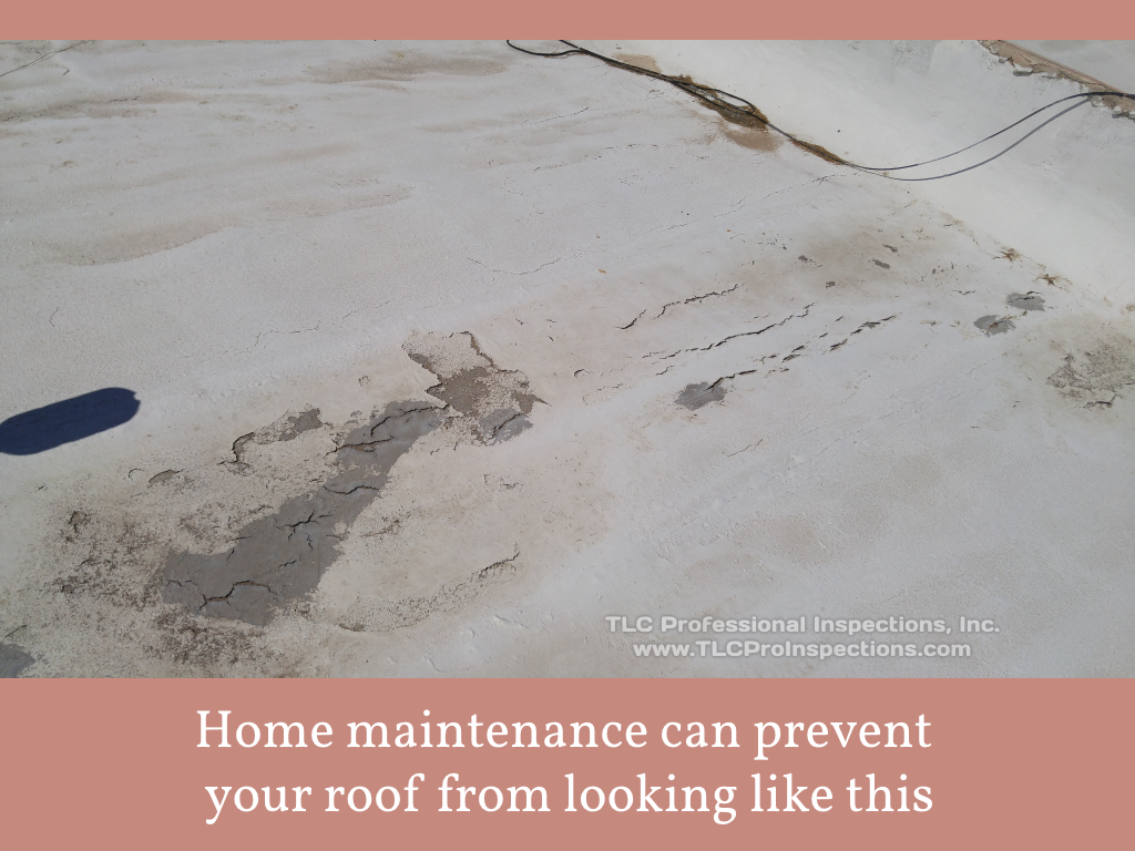 Home maintenance prevents your roof from this