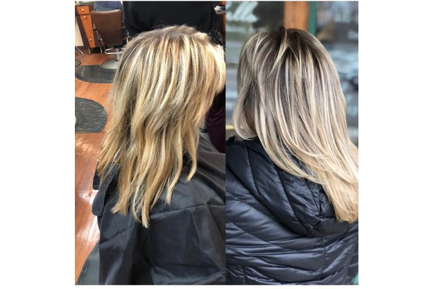 Blonde Hair Color Melt