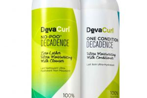 No Poo Decadence line from DevaCurl