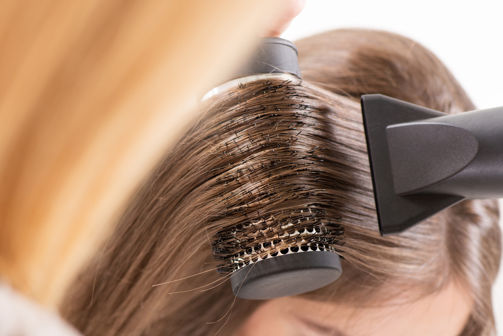 volumizing blow drying