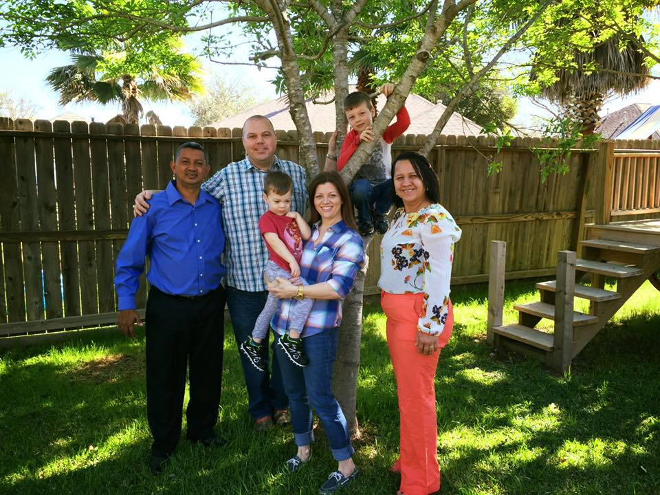 Leo, Yesenia, and Oso Blanco and Family