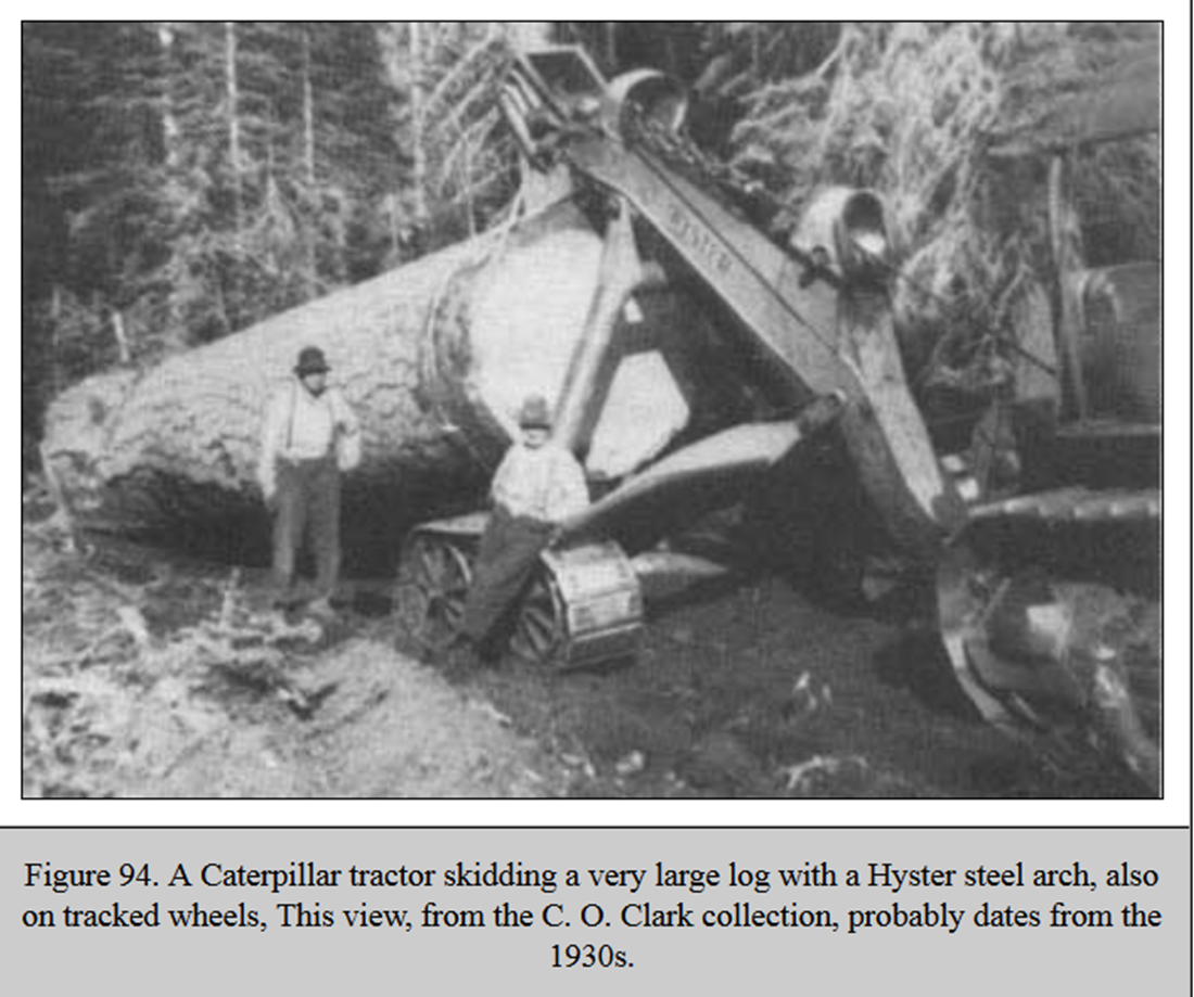 Logging History Hyster Arch