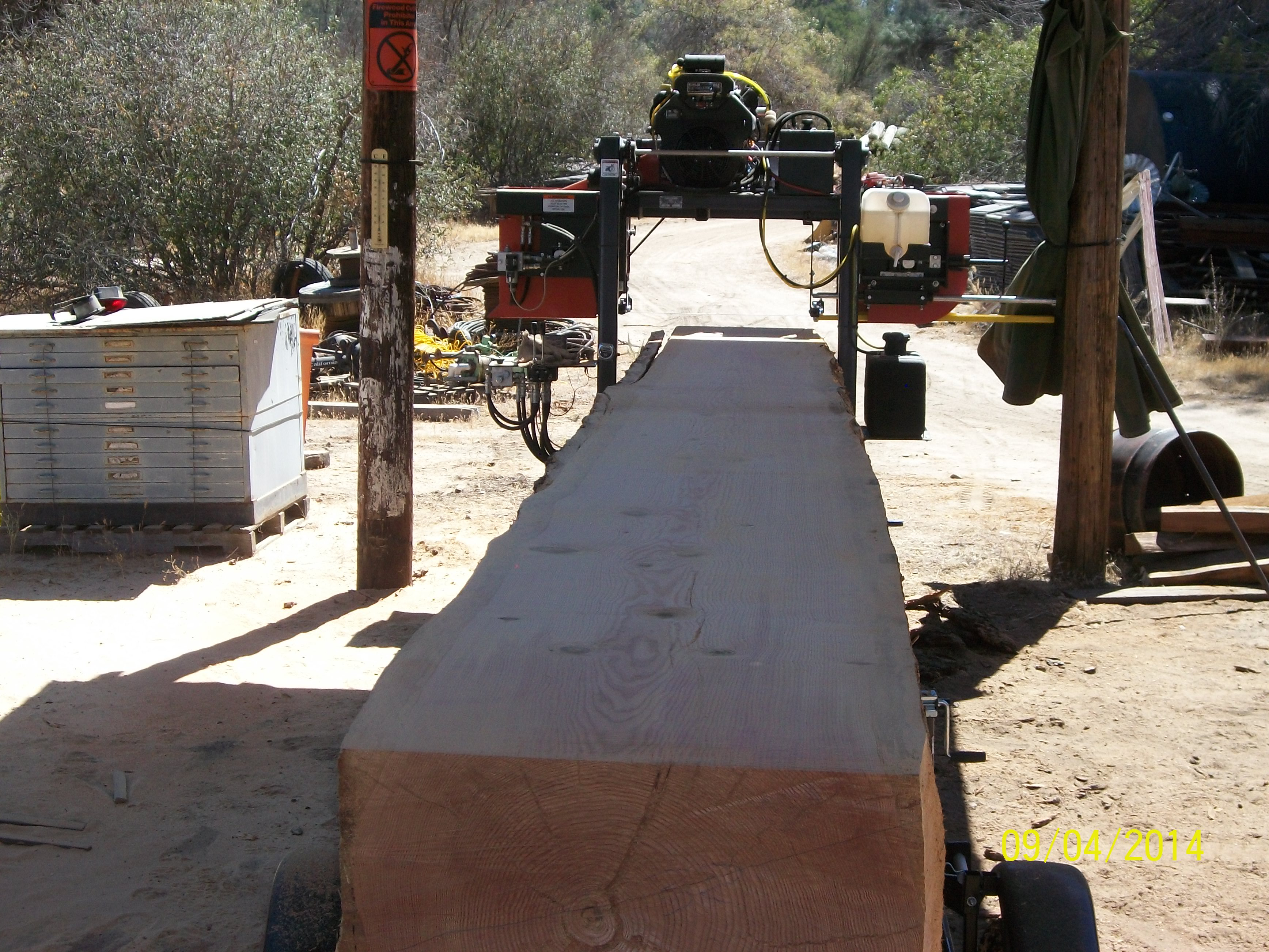 Custom lumber, redwood, douglas fir