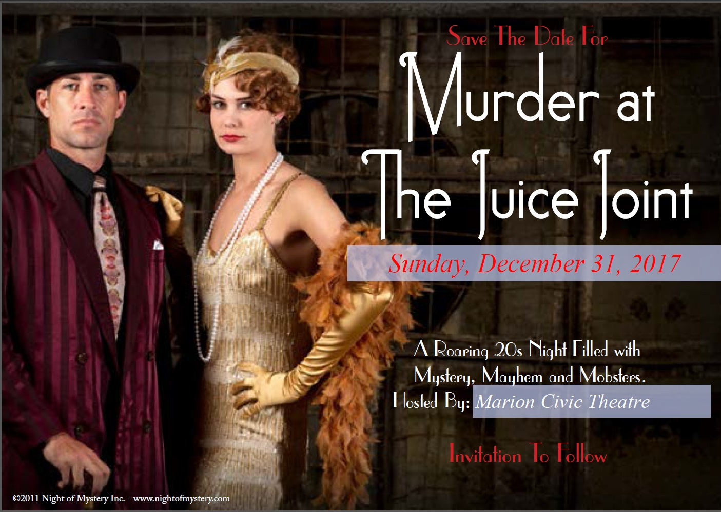 New Year's Eve Murder Mystery Gala