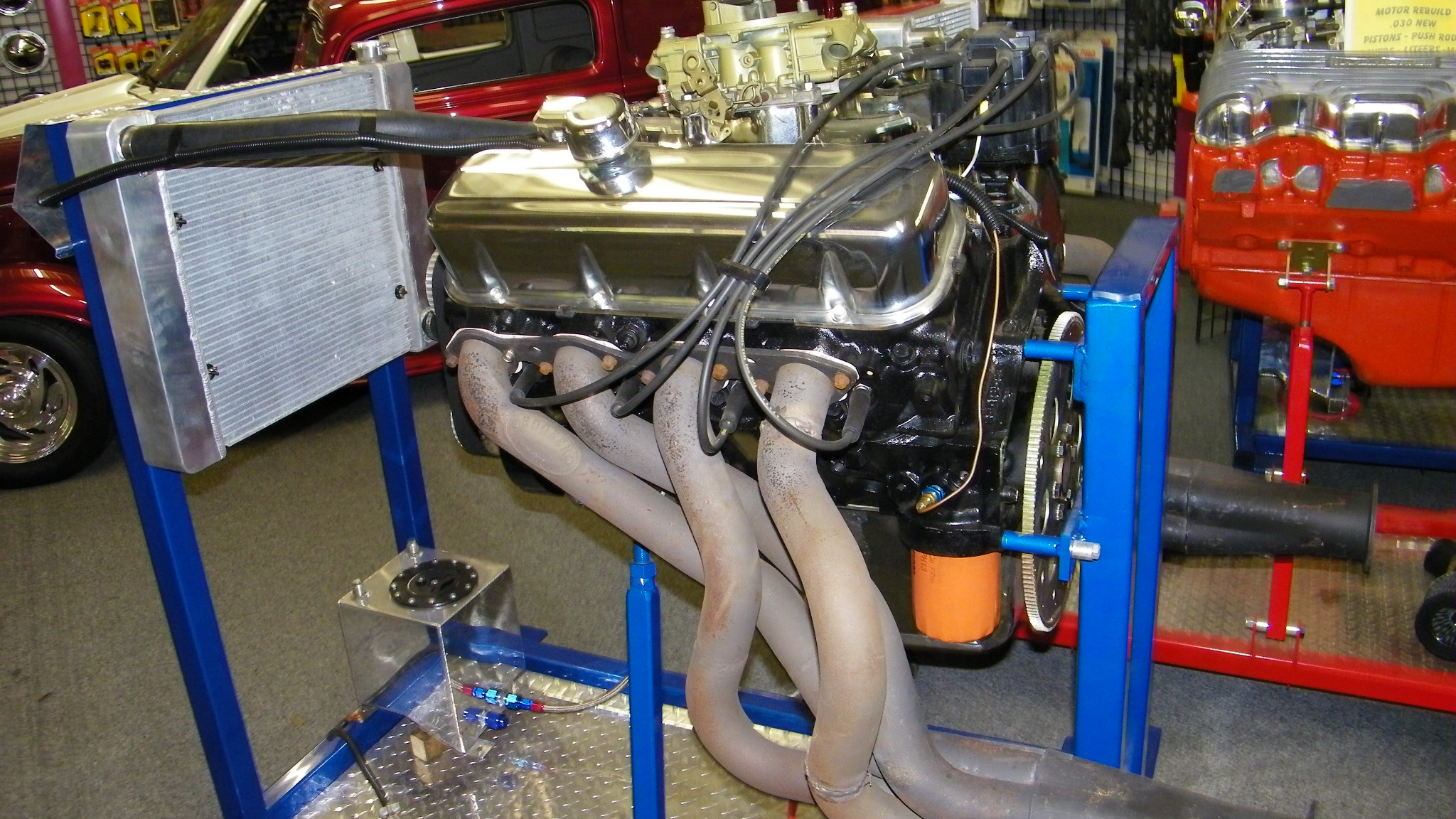 Chevy 454 Rebuilt Engine