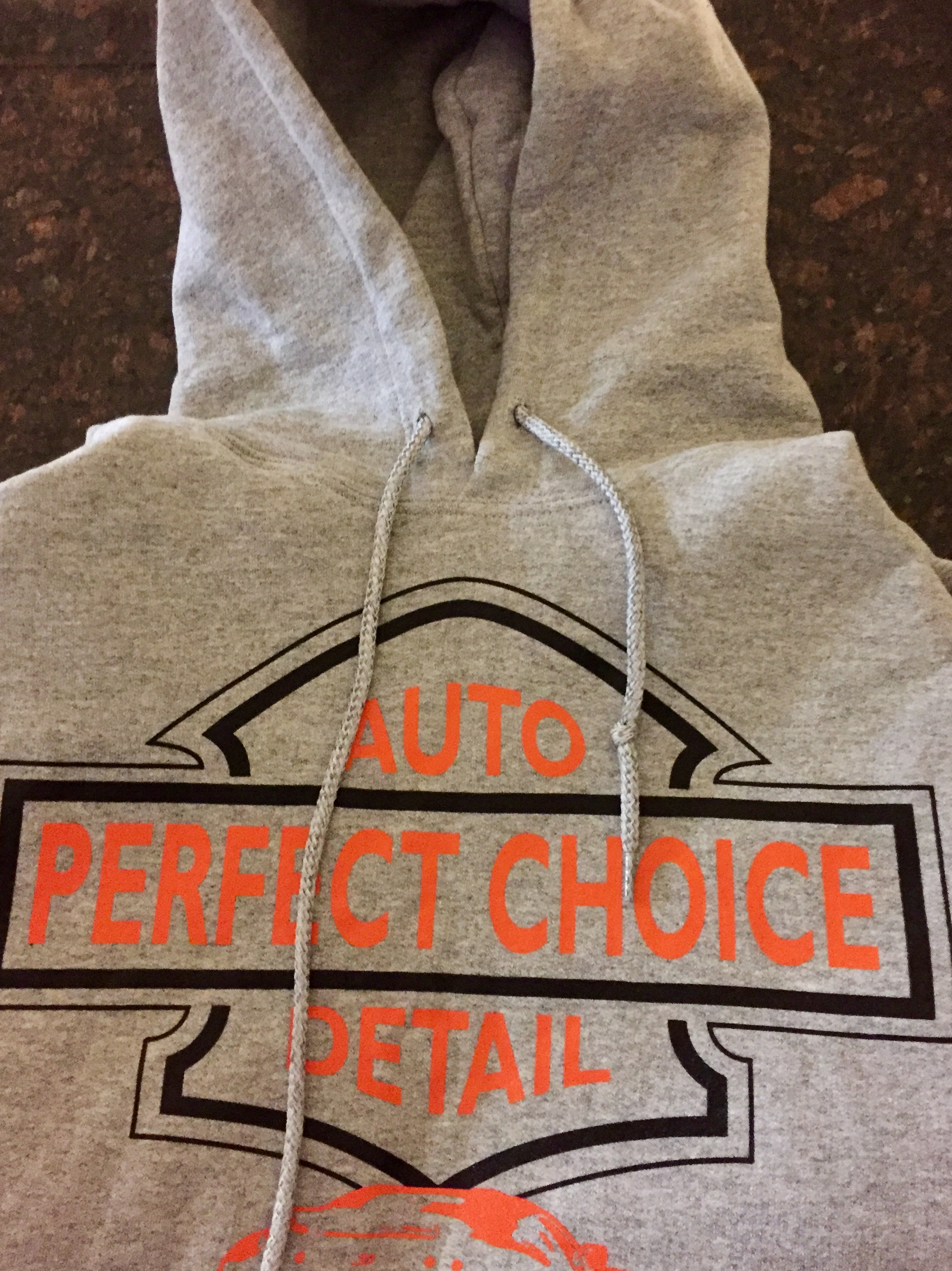Gray Perfect Choice Hoodie