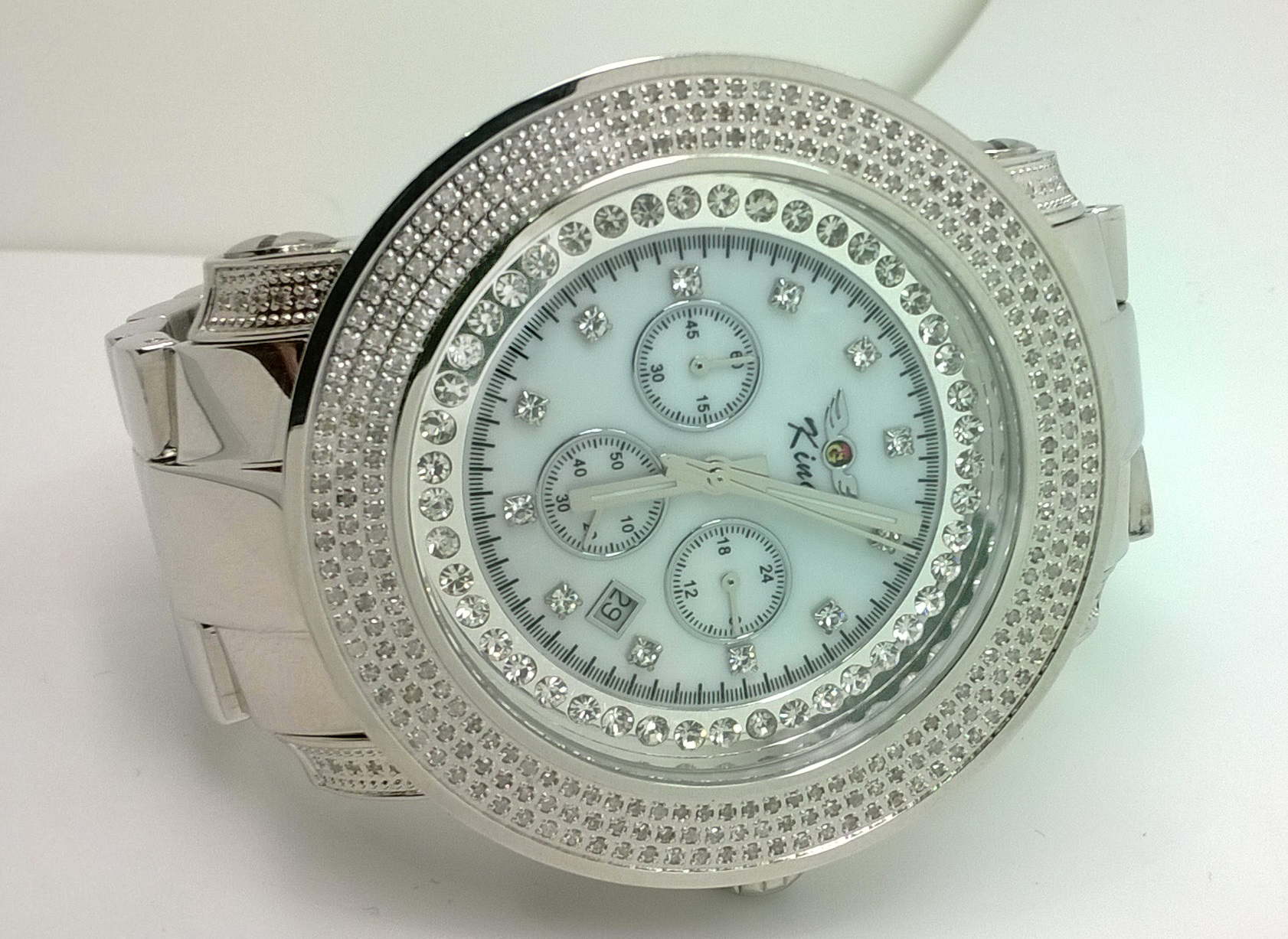 diamond city diamond watches king techno grill diamond watch
