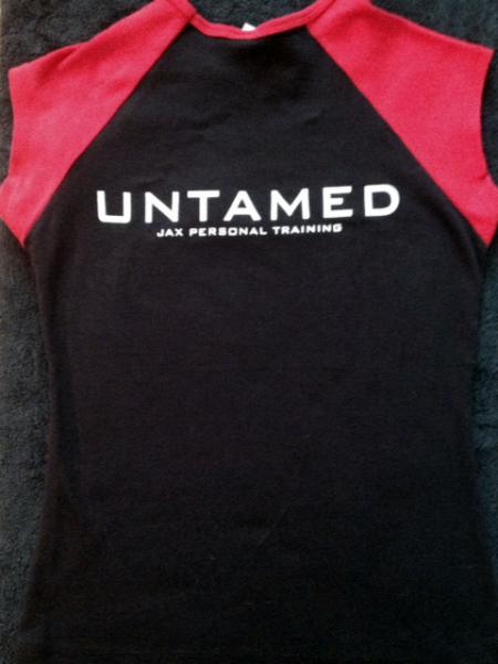 Baseball Women's T-Shirt, Black & Red