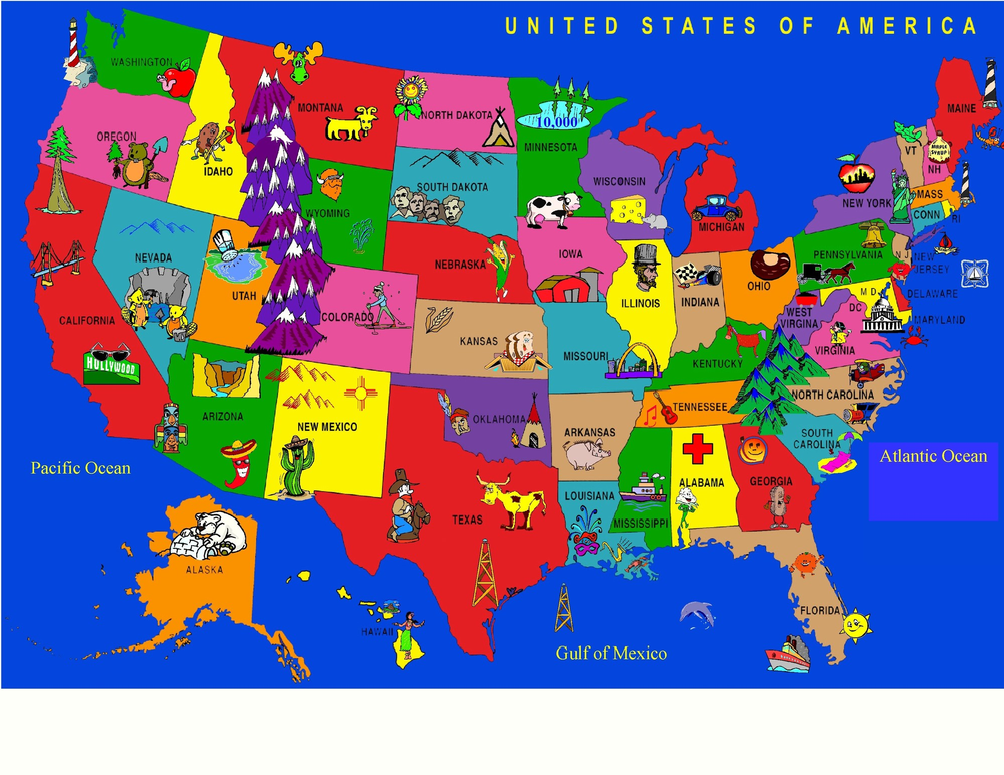 Map Usa Games Online Maps Of USA United States Physical Map Wall