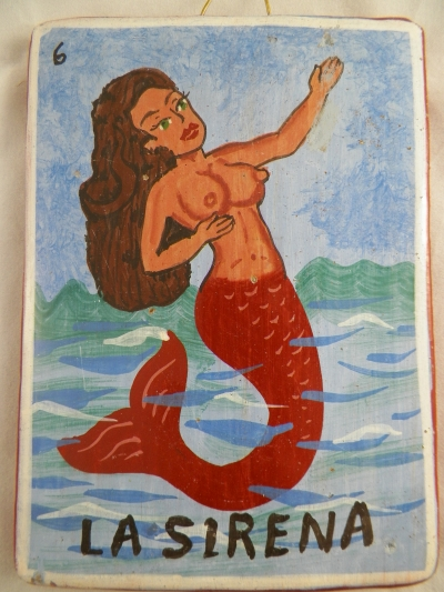Mermaid Talavera Tile Hanger