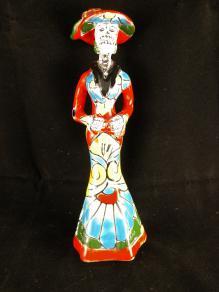 Talavera Catrina Statue