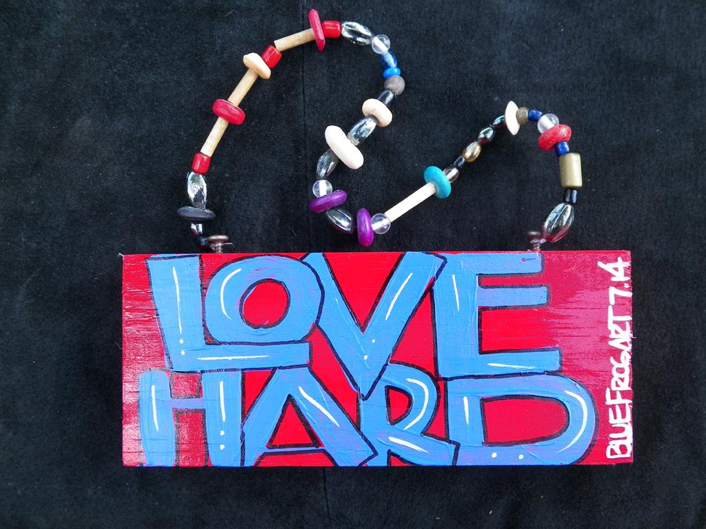 Love Hard sign