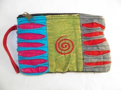 Hippie Clutch Bag with Spiral