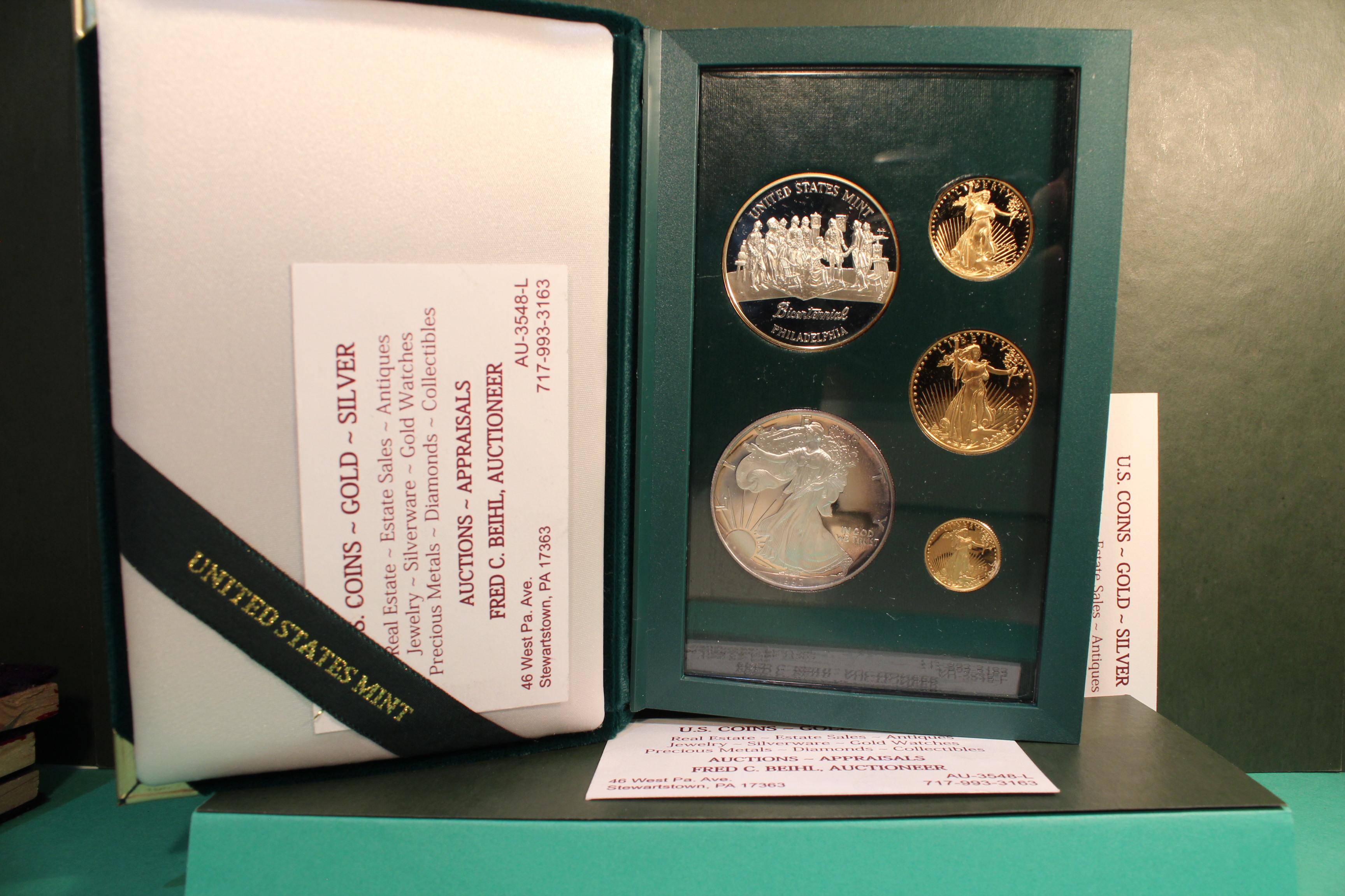 1993-P (Phila) Bicentennial Gold Set