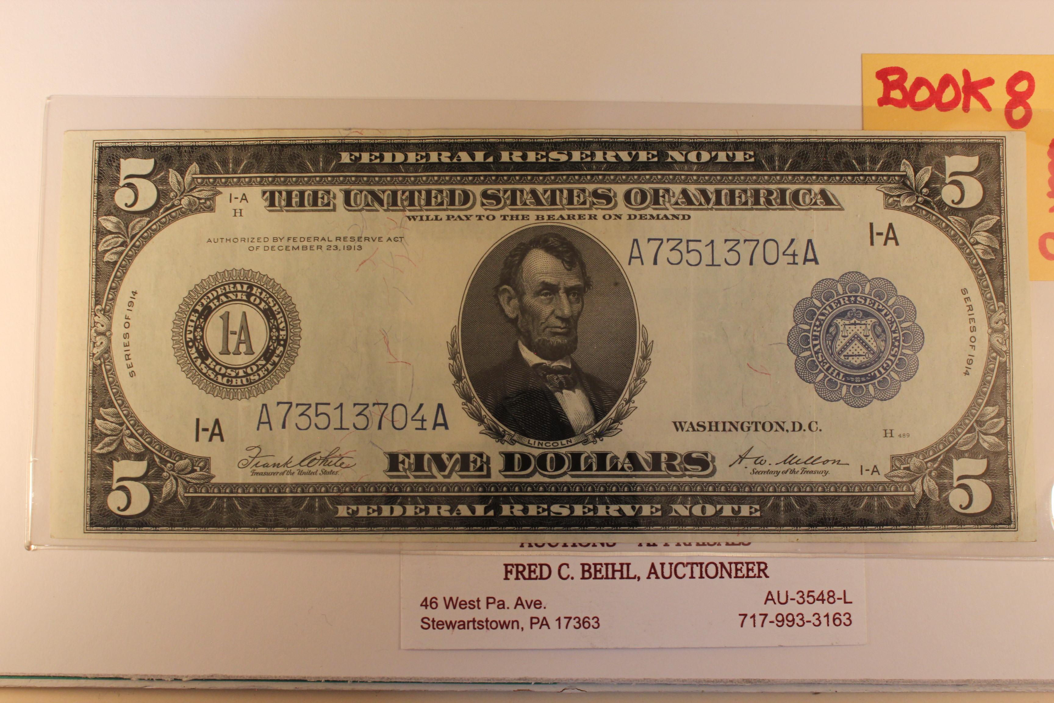 1914 FRN $5