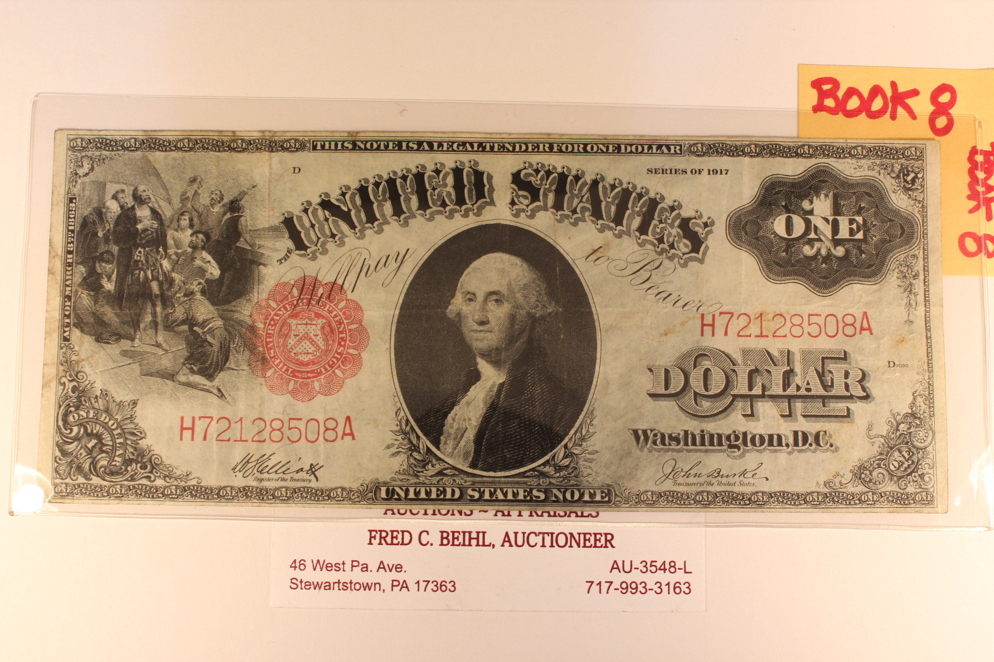 1917 United States Note FR-37
