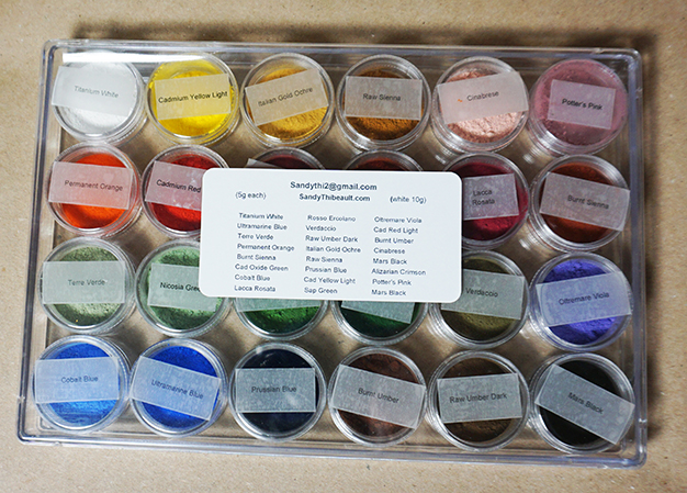 24 Pigment Sampler Kit