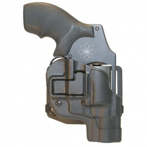 SERPA CQC HOLSTER WITH MATTE FINISH - BLACK, SIZE 20