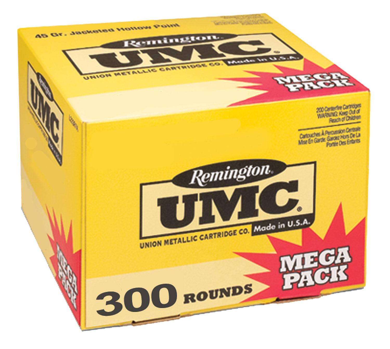 40S&W UMC 180GR METAL CASE 300RD