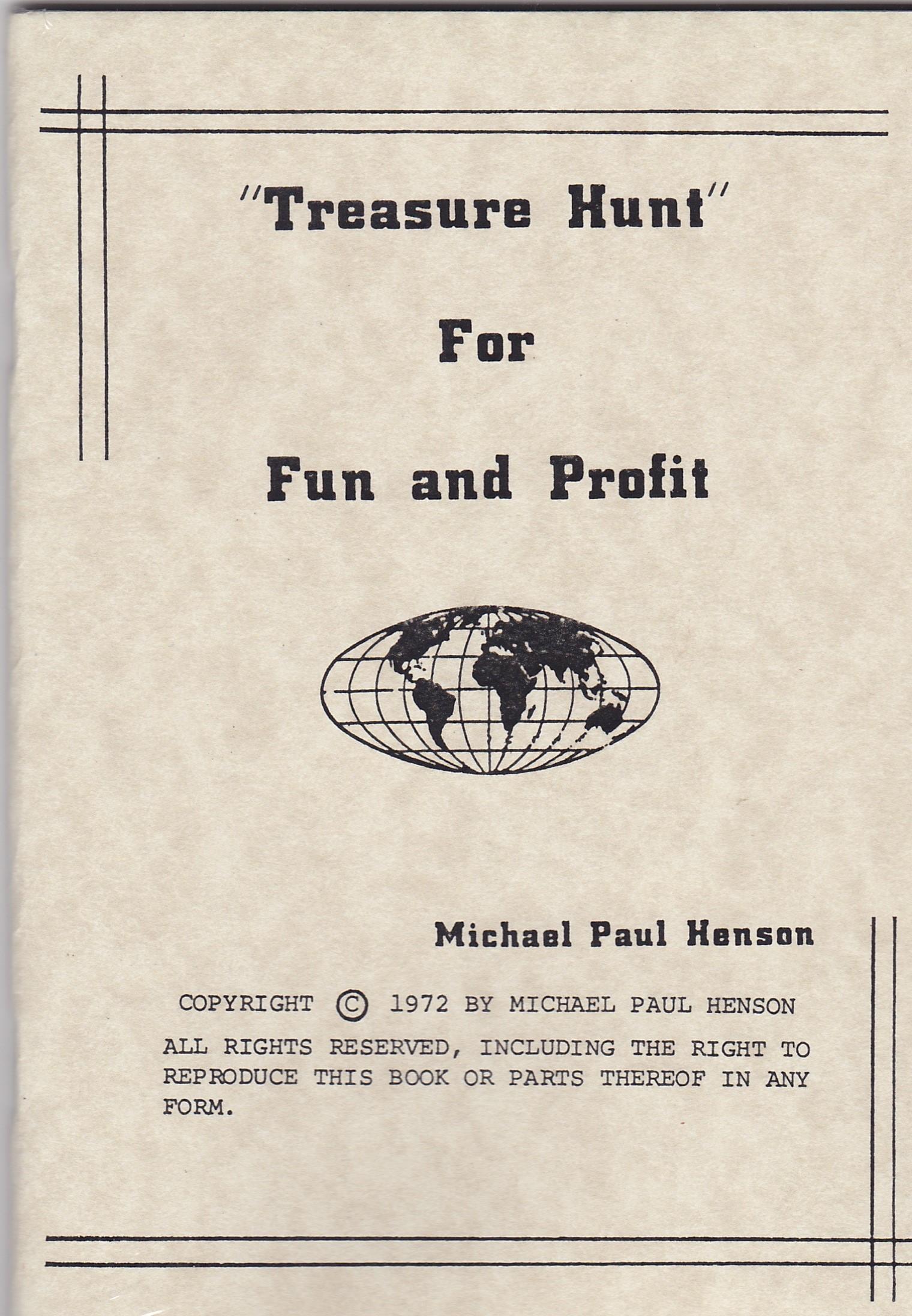 Fun & Profit in Treasure Hunting #822