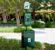 The Gladiator® Dog Waste Station