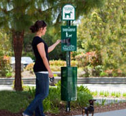 The Sentry® Dog Waste Station