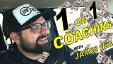 1 on 1 Coaching with James Wise - 30 min Call
