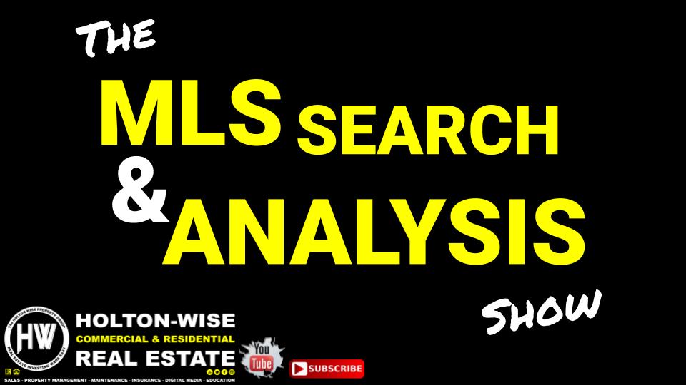 MLS Search & Desktop Video Analysis PLUS On Site Tour