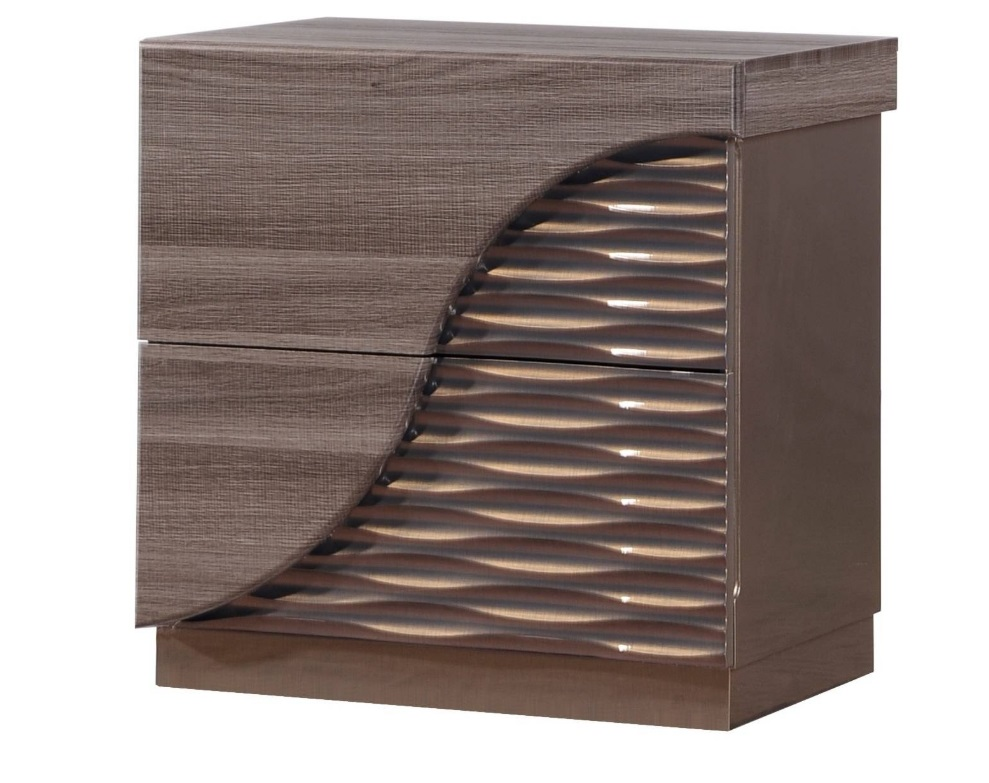Zebra Line Night Stand